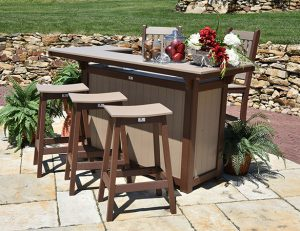 Amish Furniture Bar & Buffet