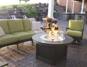 Amish Furniture Donoma Fire Pit